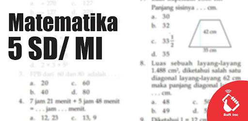 Kelas 5 SD Mapel Matematika app (apk) free download for Android/PC/Windows screenshot