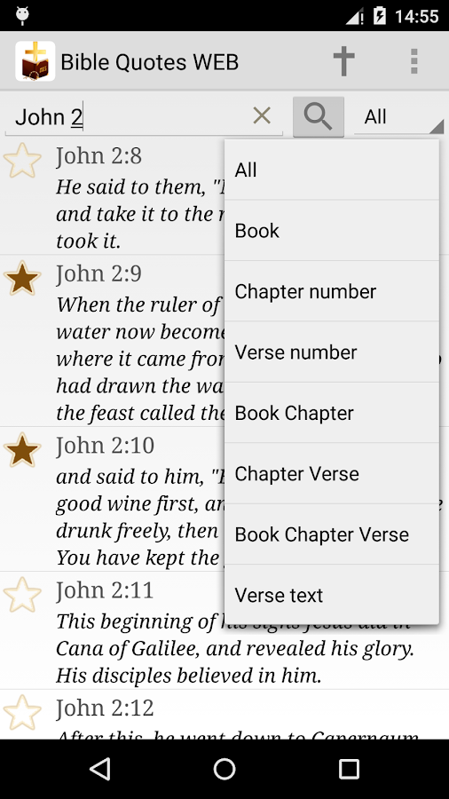 Daily Bible Verse WEB- screenshot