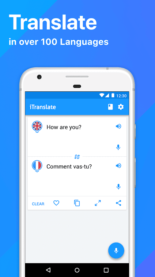 iTranslate Translator & Dictionary- screenshot