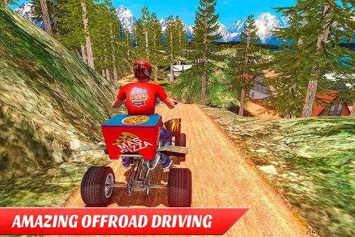 ATV Pizza Delivery Boy  screenshots 5