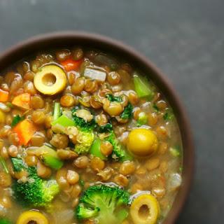 Lentil Quinoa Soup.