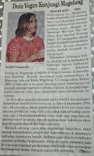 Photo: Jogja Kedaulatan Rakyat article  Translated on the day by Monique from Animal Friends Jogja [AFJ]