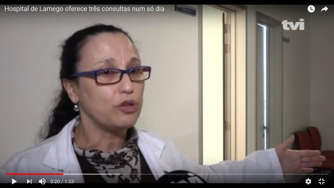 Vídeo - Hospital de Lamego oferece três consultas num só dia