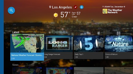 The Weather Network TV App screenshot 4