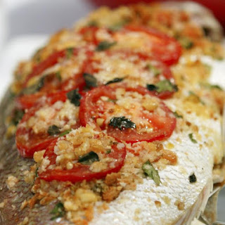 Baked Whole Fish.