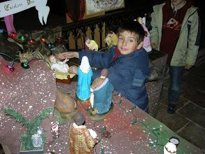 Photo: La crèche le 24 décembre 2007