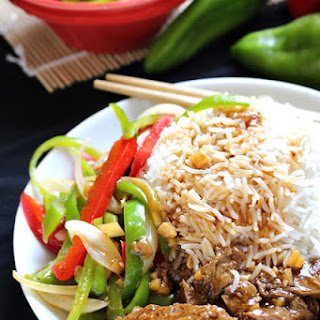 Chinese Pepper Steak With Seitan