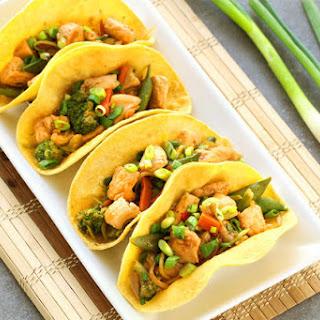 Chicken Stir-Fry Tacos Recipe