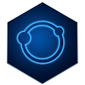 Dark Blue Hexagon Icon Pack icon