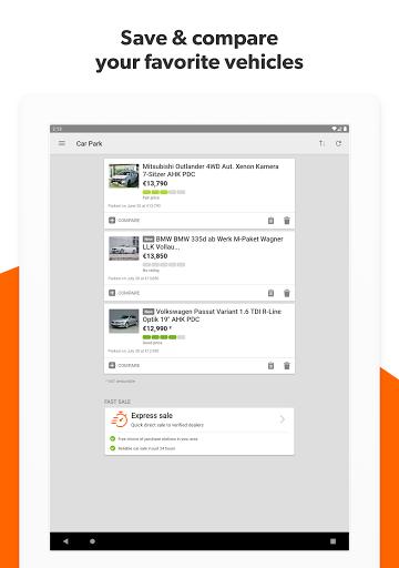 mobile.de – Germany's largest car market 8.11.1 screenshots 12