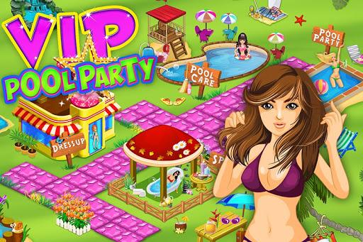 Fashion Pool Party Makeup