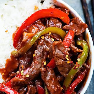 20 Minute Beijing Beef.