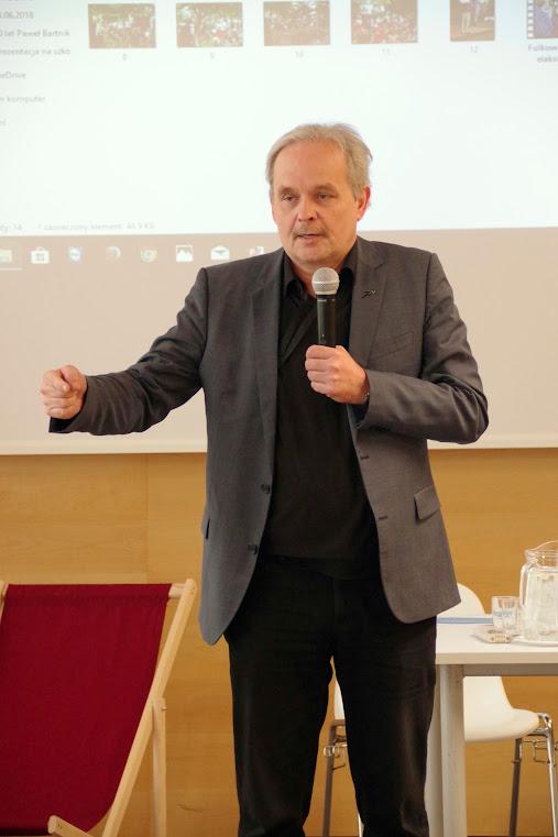 Pomerania e.V. Geschäftsführer auf polnischer Seite; Paweł Bartnik. Foto: asc