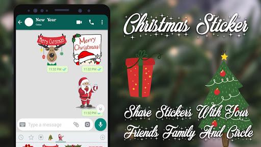 Christmas Stickers For Whatsapp 1.2 screenshots 1