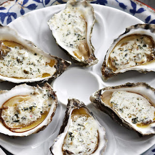 Oysters with Tarragon Butter