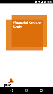 PwC Financial Services Deals - náhled