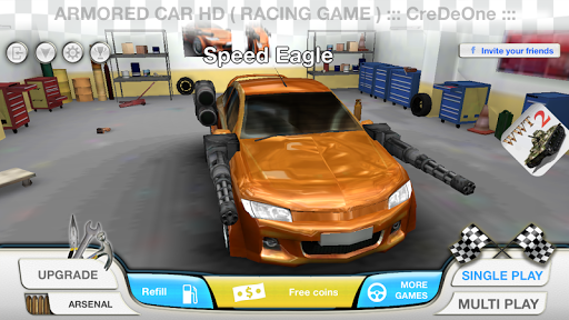 Armored Car HD (Racing Game)  screenshots 1