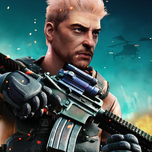 Sniper Frontier 3D:Free Offline FPS Game