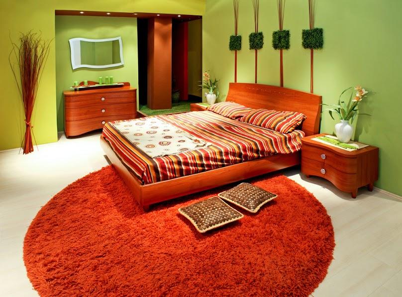 Okrągły dywan