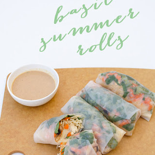 Summer Basil Rolls