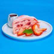 Strawberry Crêpe Cake (Slice)