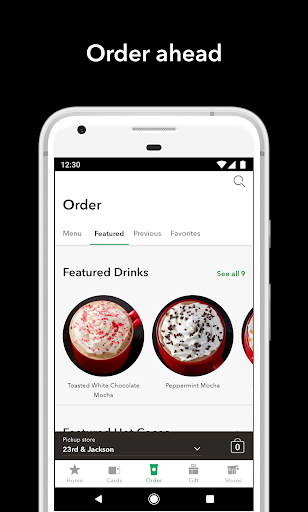 Starbucks for Android apk 3