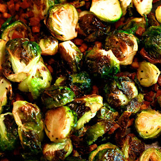 Brussels Sprouts with Pancetta and Balsamic Vinegar