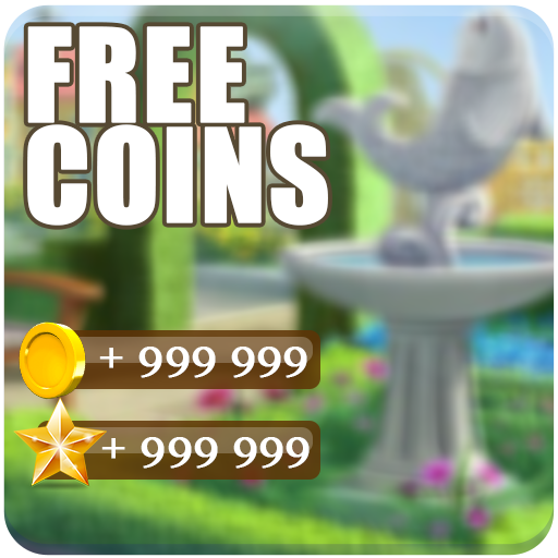 Coins & Stars For Gardenscapes : PRANK