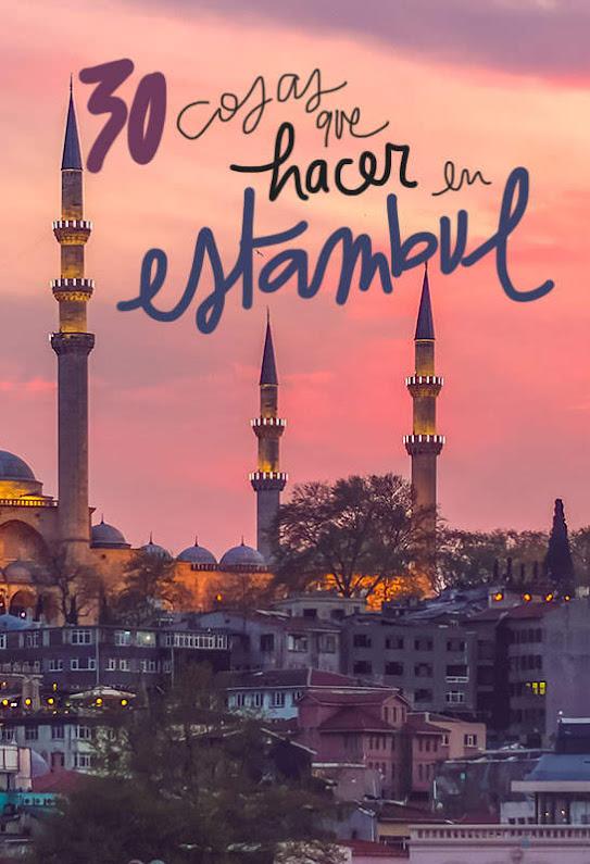 cosas que ver y hacer en Estambul