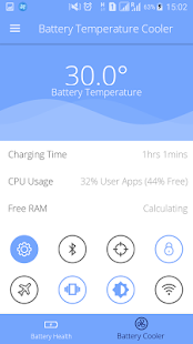 Battery Temperature Cooler App - náhled