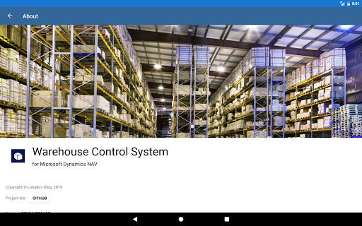 Warehouse Control System 1.0.6 screenshots 1