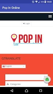 PopIn Online - náhled