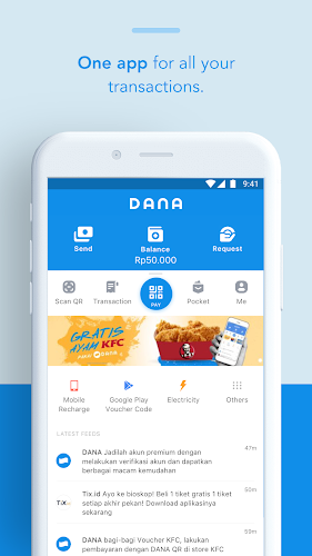 Download DANA - Indonesia's Digital Wallet APK latest version app by