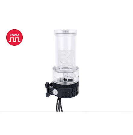 EK vanntank m/pumpe EK-XRES 140 Revo D5 PWM - Plexi (incl. sleeved pump)