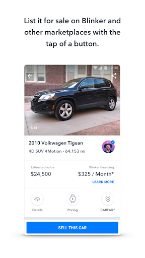 Blinker: Buy, sell & refinance cars  screenshots 2