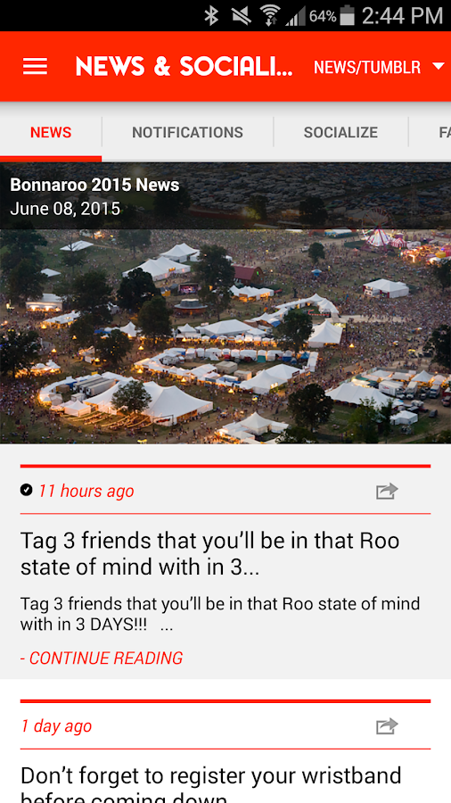 Bonnaroo- screenshot