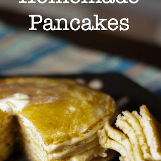 Homemade Pancakes Without Butter Recipes.