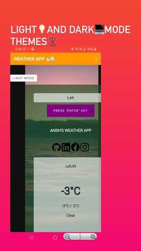 WeatherApp screenshot 3