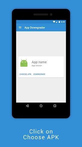 App Downgrader (ROOT) 1.0.3 screenshots 2