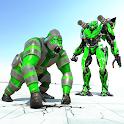Transform Gorilla Robot Game icon