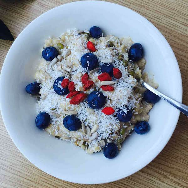 Rice And Mung Beans Pudding Recipe