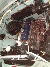 Photo: original paint for the valve color was dark blue