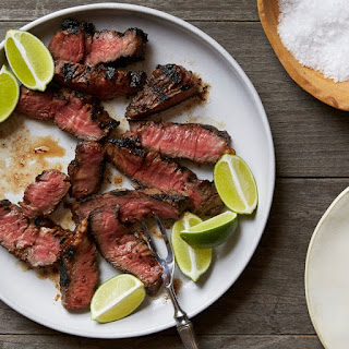 Grilled Soy-Tamarind Denver Steaks