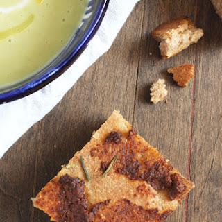Olive Tapenade Focaccia Bread