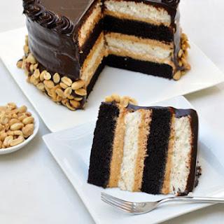 Heaven & Hell Cake