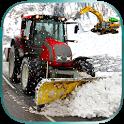 Winter Snow Excavator Crane Op icon