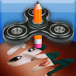 Spin and Erase : Fidget Spinner Puzzle Fun Icon