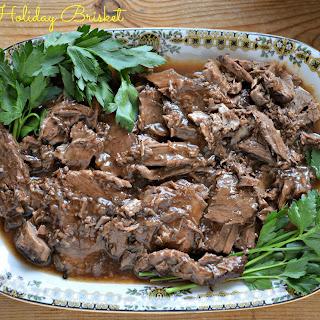 Brisket for Passover