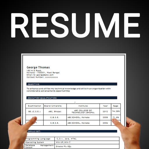 app insights free resume builder cv maker templates pdf formats