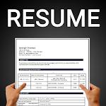 Resume builder Free CV maker templates formats app 9.12